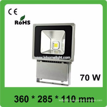 CE&ROHS waterproof IP66 outdoor 70w led flood bulb,3 years warranty