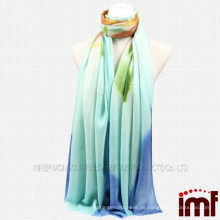 2014 neue Artdamen Art und Weisewolle druckte Schal handgemalte Schale
