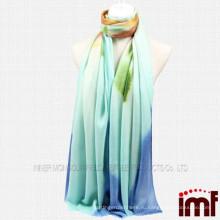 2014 новый стиль дамы моды шерсти печатных платок ручной росписи шали