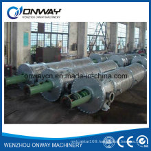 Tfe High Efficient Agitated Vacuum Distillation Used Oil Used Engine Oil Used Cooking Oil Wipe Film Evaporator