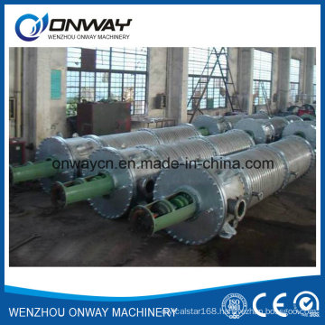 Tfe High Efficient Agitated Vacuum Distillation Used Oil Used Engine Oil Used Cooking Oil Wipe Film Evaporator