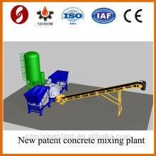 Usine de béton mobile MD1800 à faible prix, usine de mélange de béton mobile. Usine de béton mobile