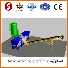 High batching performance MD2200 mobile concrete mixing plant,mobile concrete batching plant,mobile concrete plant