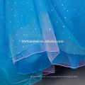 Золушка cospay платье в ТВ и кино костюм 2016 новый дизайн синий цвет принцесса платье конструкции