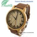 Fashion Wrist Watch Wooden Watch Men′s Women′s Quartz Watch