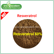 Best Quality for Berberine, Rutin, Ginseng leaf p.e. ,Green Tea P.e.,plant extract for Sale Resveratrol export to St. Pierre and Miquelon Manufacturers