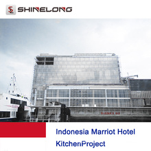 Indonesien Marriot Hotel Küchenprojekt