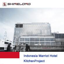 Proyecto de cocina del hotel Marriot de Indonesia