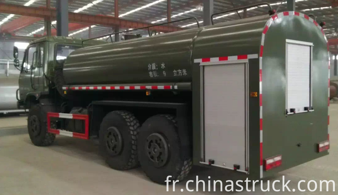 Dongfeng 6x6 water waggon 10,000 liters