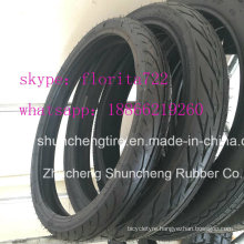 Quality Motorcycle Tire for Southamerica Market (2.50-16)