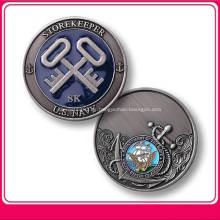 Moneda profesional del desafío militar del ejército del metal personalizado