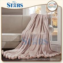 GS-XYMTQ001-07 thin comfortable fleece print blankets With Home