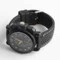 multi-function men watch wholesale cheap price black silicone watch strap