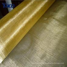 YACHAO malla 100 malla 200 emi / rfi que protege la tela, malla de pantalla de latón, malla de alambre de cobre