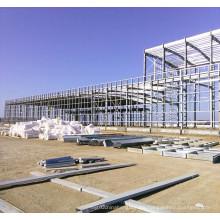 Almacén de construcción de estructura de acero prefabricado
