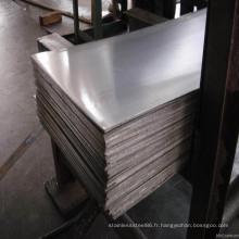304 304L 316L plaque d'acier inoxydable