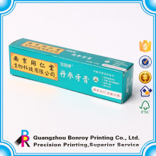 Hot toothpaste packaging, paper cosmetic box, cosmetic paper box