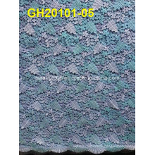 Colorful Popular Dress Making Lace Fabrics Cord Lace Fabrics for Party