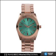 Art und Weisearmbanduhr-Legierungsdame-Armbanduhr