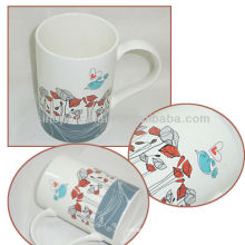 Nice Bird Design 9OZ Porcelain Coffee Mug For BS130531A
