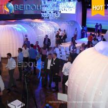 12 человек Выставка Выставка Big Tent Factory 3X6 Garden Gazebo Wedding Party Надувная палатка