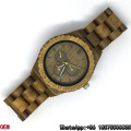 Top-Quality Green Sandalwood Watch Quartz Watches Hl03