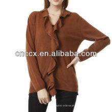 13STC5546 senhoras suéter mulheres cashmere cardigan