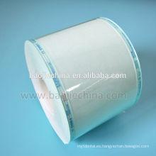 Carrete plano de rollo de papel de esterilización