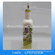 Высококачественная керамическая масляная бутылка с оливковой набивкой для посуды
