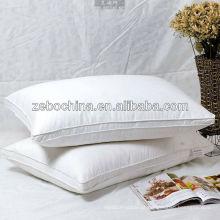 Fábrica de design de luxo de alta qualidade direta feitas macio atacado travesseiros personalizados para hotel cinco estrelas