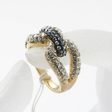 Fashion Popular Hot Selling Classic Jewelry Flower Pattern zinc alloy cross Lover Wedding Promise Ring