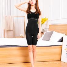 China black spiral tight skinny short pants slim high waist body shapewear sports