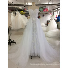 2017 reale Beispiel-Brautkleid-Hochzeits-Kleid-Fabrik