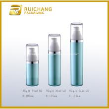 Flacon pompe Airless cosmétiques en plastique