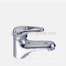 Single Lever Basin Faucet In Brass Body