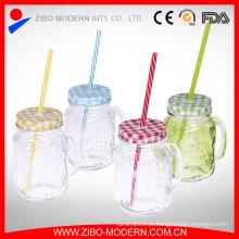 16oz limpeza Custom Straw China Wholesale Maçanear pau Handle