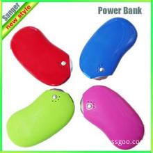 Colorful Unique design portable power bank charger 5200mAh