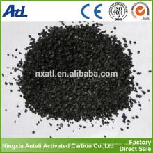 poudre à base de charbon noir et charbon actif granulaire dans la production chimique