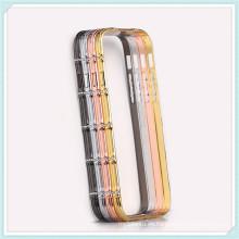 Caja de aluminio del marco para iPhone6, caja de parachoques del metal duro para iPhone6