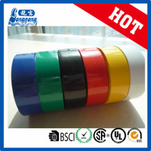 Cinta de aislamiento eléctrico de PVC brillante