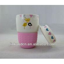 Керамическая чашка KC-01213, японские чашки керамического чая