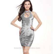 El resorte y el vestido maxi del vestido de la playa del vestido de las nuevas mujeres del diseño del verano visten el vestido SD10