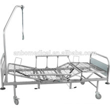 hospital bed all stainless steel with traction frame