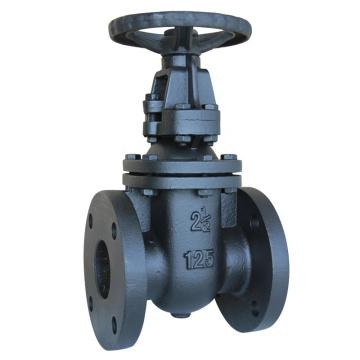 robinet-vanne à siège métallique en fonte de haute qualité, tige montante