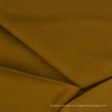 Tejido de algodón de satén de 60 años Tejido de algodón de tencel Look