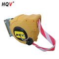 A18 new products portable automatic barrier reel retractable barrier tape reel with Barrier Stripe Red / White