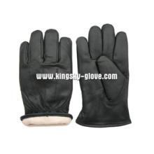 Корова Зерновая кожа Thinsulate Lined Зимняя рабочая перчатка