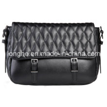 2015 Retro gesteppte Klappe Mode Dame Handbag (ly0155)