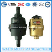 Brass/Plastic Kent Type Water Meter Dn15-25mm