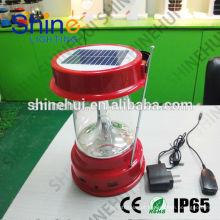 Portátil lanterna LED de alta qualidade com lanterna solar usb carregador de lanterna